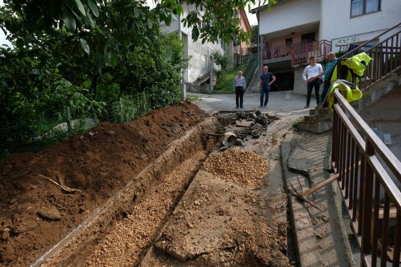 Nastavljena izgradnja separatne kanalizacione mreže u Švrakinom Selu