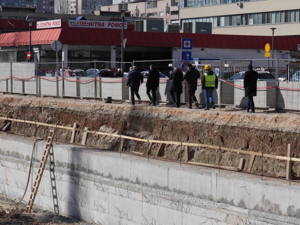 Nastavlja se izgradnja podzemne garaže u Kolodvorskoj, riješeno i pitanje saobraćaja