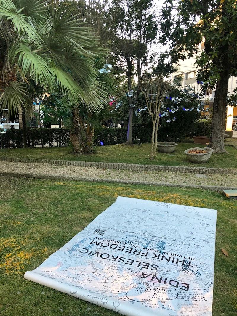 Umjetnička instalacija Edine Selesković nastavlja svoj put u Rimu