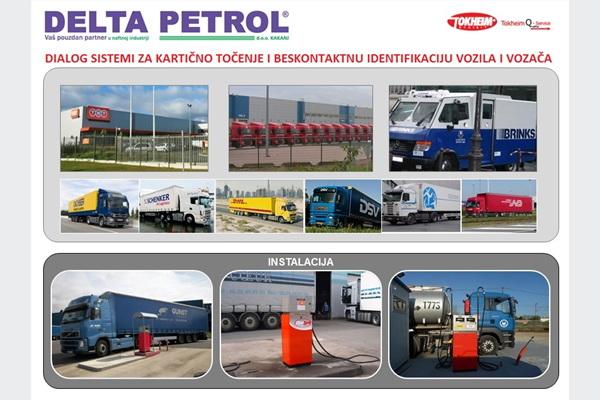 Delta Petrol: Automati za kartično točenje goriva - DiaLOG