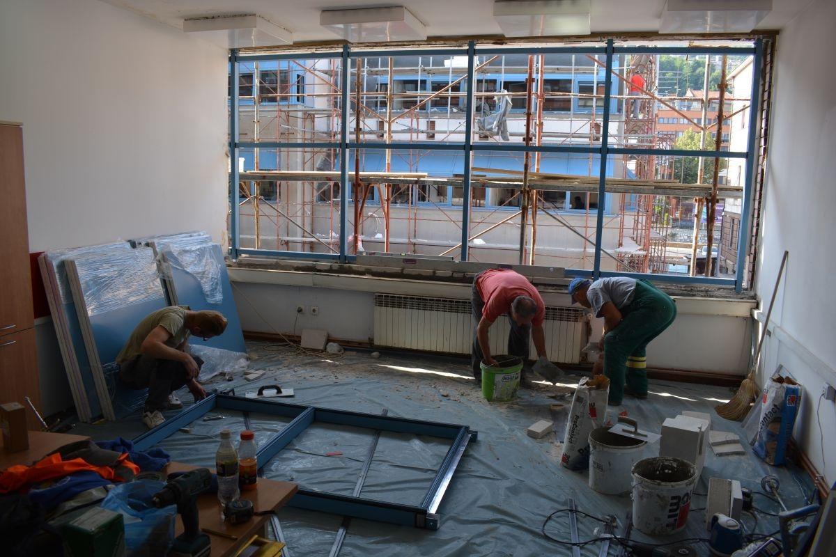 ITC Zenica izvodi radove na rekonstrukciji zgrade Općine Stari Grad