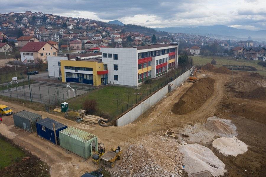U Naselju heroja Sokolje gradi se sportsko - rekreacioni centar 'Zlatno polje'