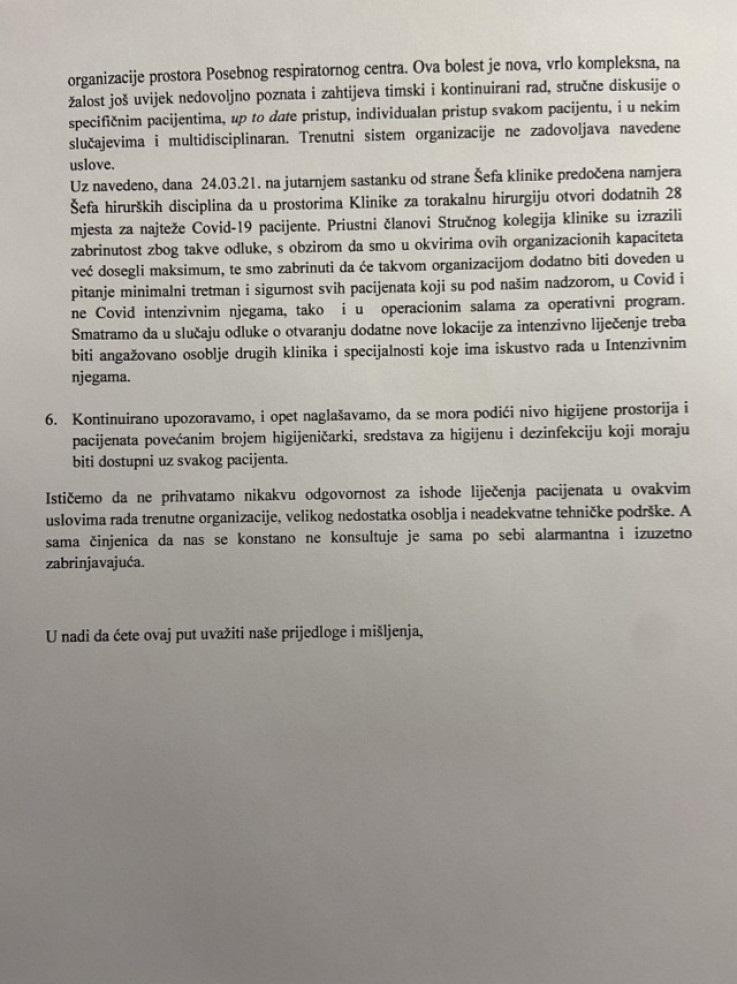Novo pismo anesteziologa s KCUS-a: 'Malina' respiratori se ne mogu koristiti za Covid-19 pacijente
