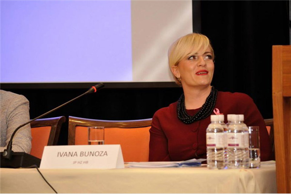 Ivana Bunoza iz kompanije Elektroprivreda HZHB