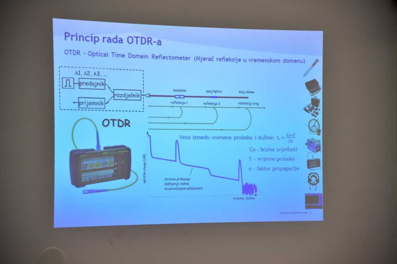 Završena škola fiber-optike: Polaznici stekli praktična znanja iz ove oblasti