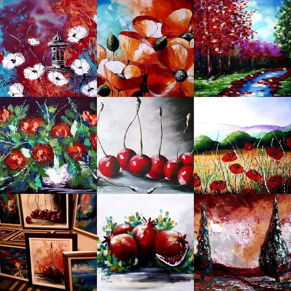 Alena Gojak - Slike bh. umjetnice krase zidove domova i kompanija širom svijeta