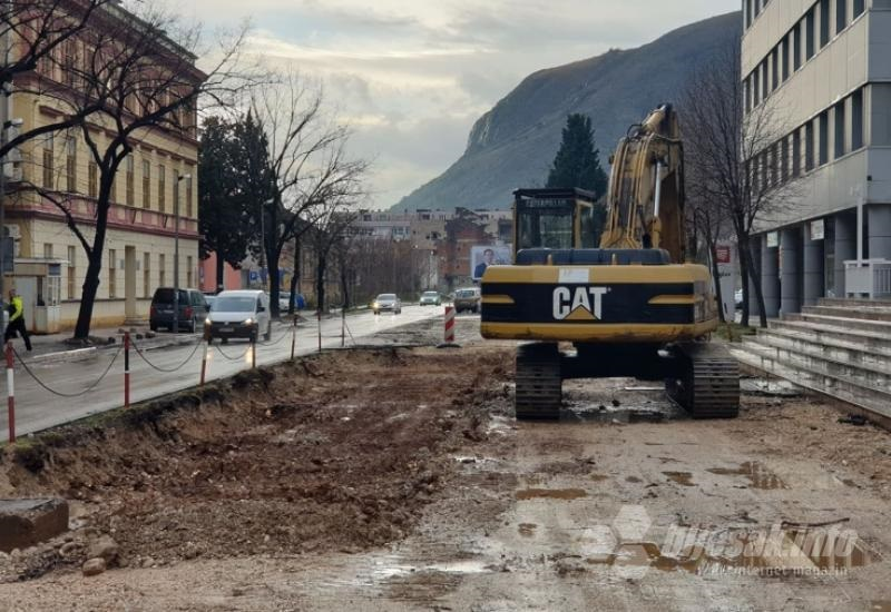 Užurbano se gradi mostarska gradska magistrala