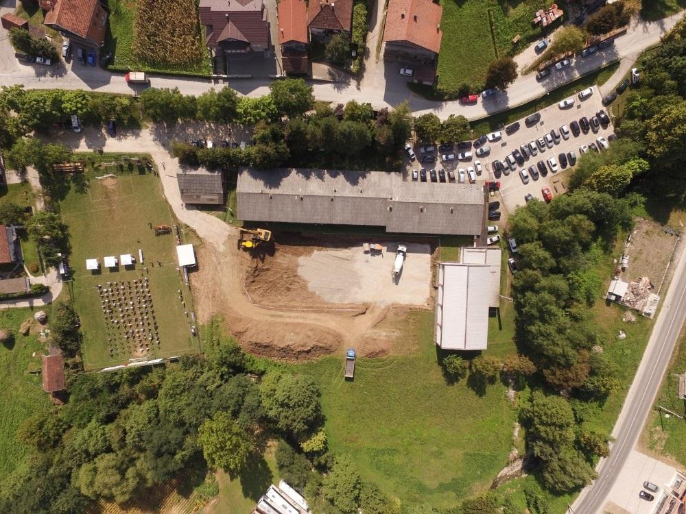 Vlada ZDK i Općina Tešanj grade novu školu u Medakovu (Foto)