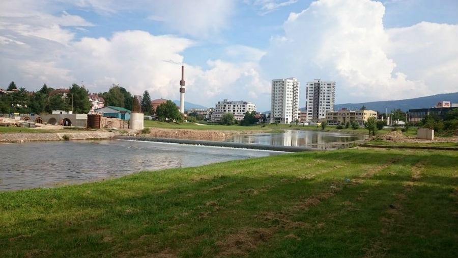 Pogledajte budući izgled pješačkog mosta na Ilidži kod Obija