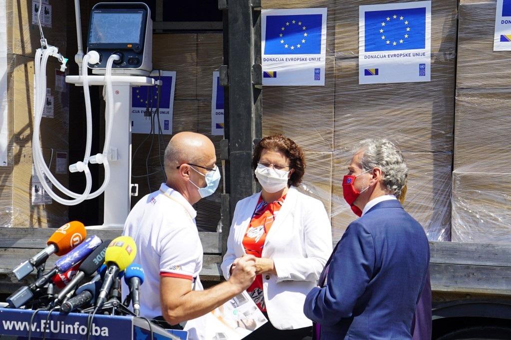 EU donirala BiH opremu vrijednu 1,3 miliona eura