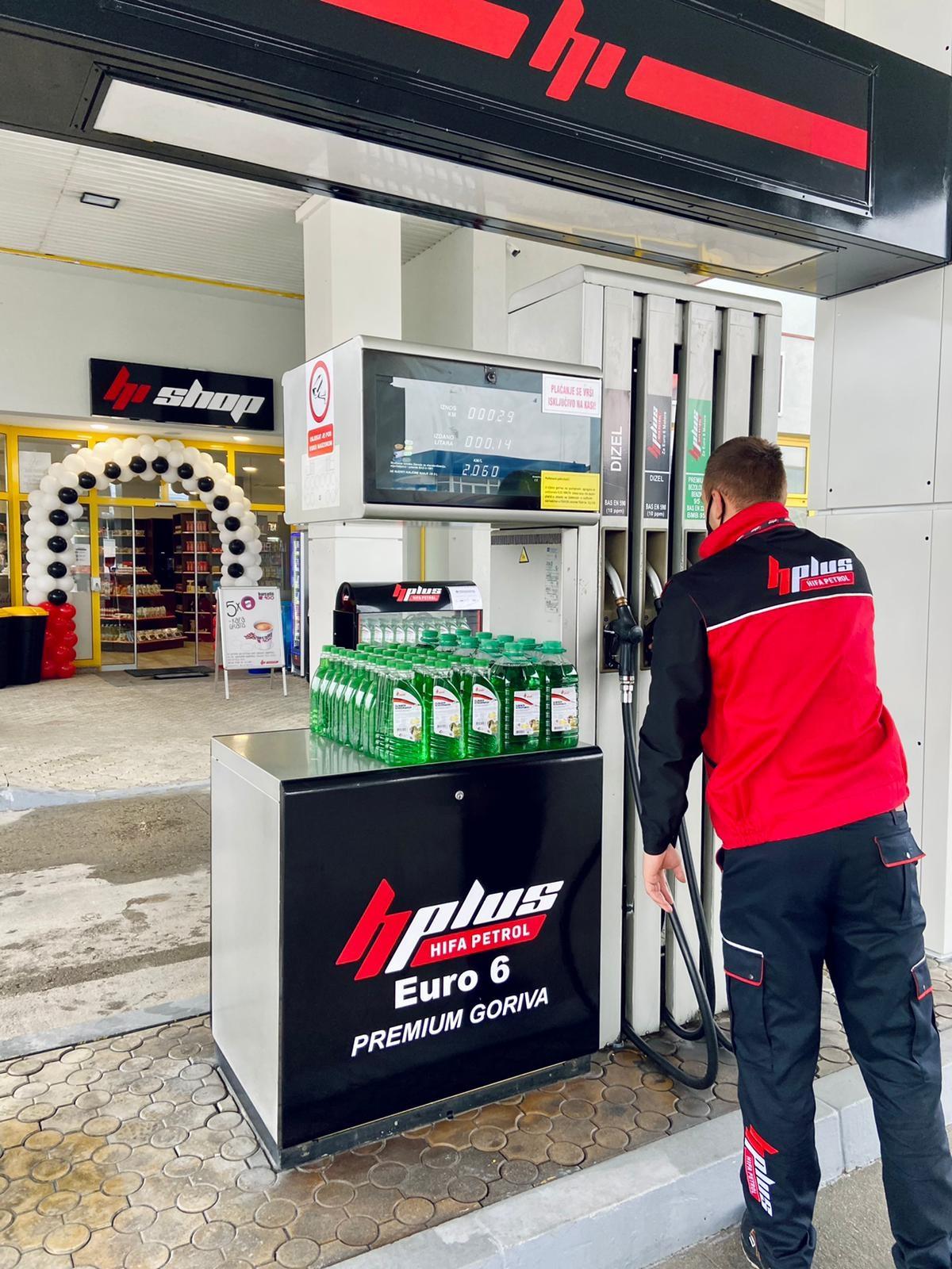 Otvorena 46. Hifa Petrol benzinska pumpa u Bihaću