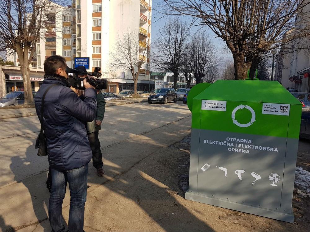 U Goraždu počinje odvojeno prikupljanje e-otpada