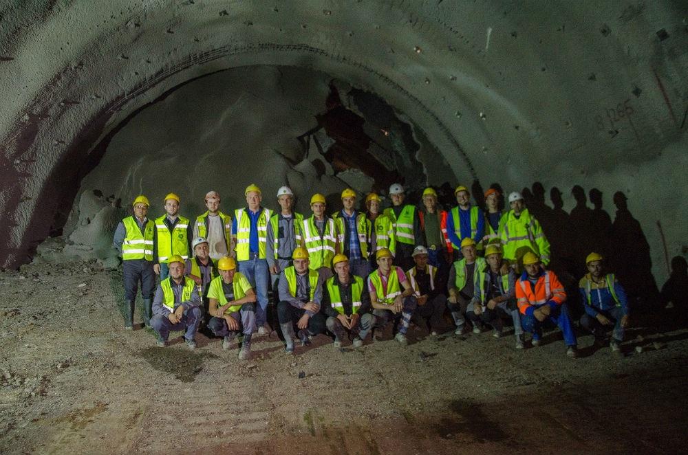 Probijena lijeva cijev tunela Pečuj na Koridoru Vc