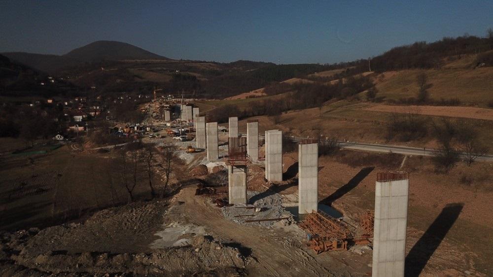 Pogledajte dinamiku radova na poddionici Tarčin – Ivan