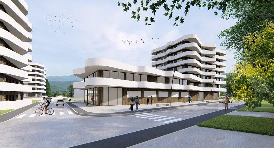 Počela gradnja stambenog objekta Sarajevo Waves 5