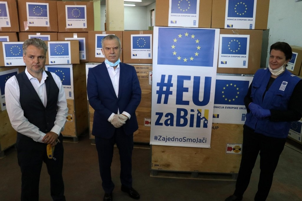 EU donirala respiratore BiH vrijednosti oko 800.000 eura