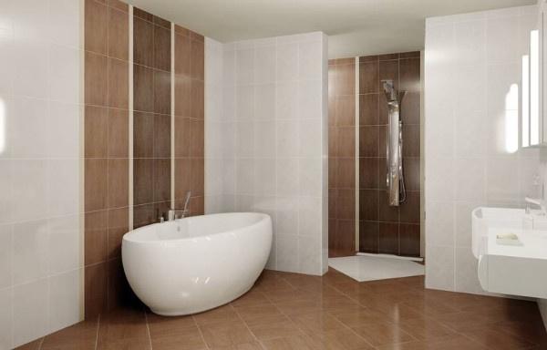 5 modernih boja za va e kupatilo for Economic bathroom designs