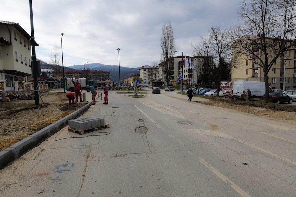 Hadžići: Rekonstrukcija i asfaltiranje ulice Zlatnih ljiljana