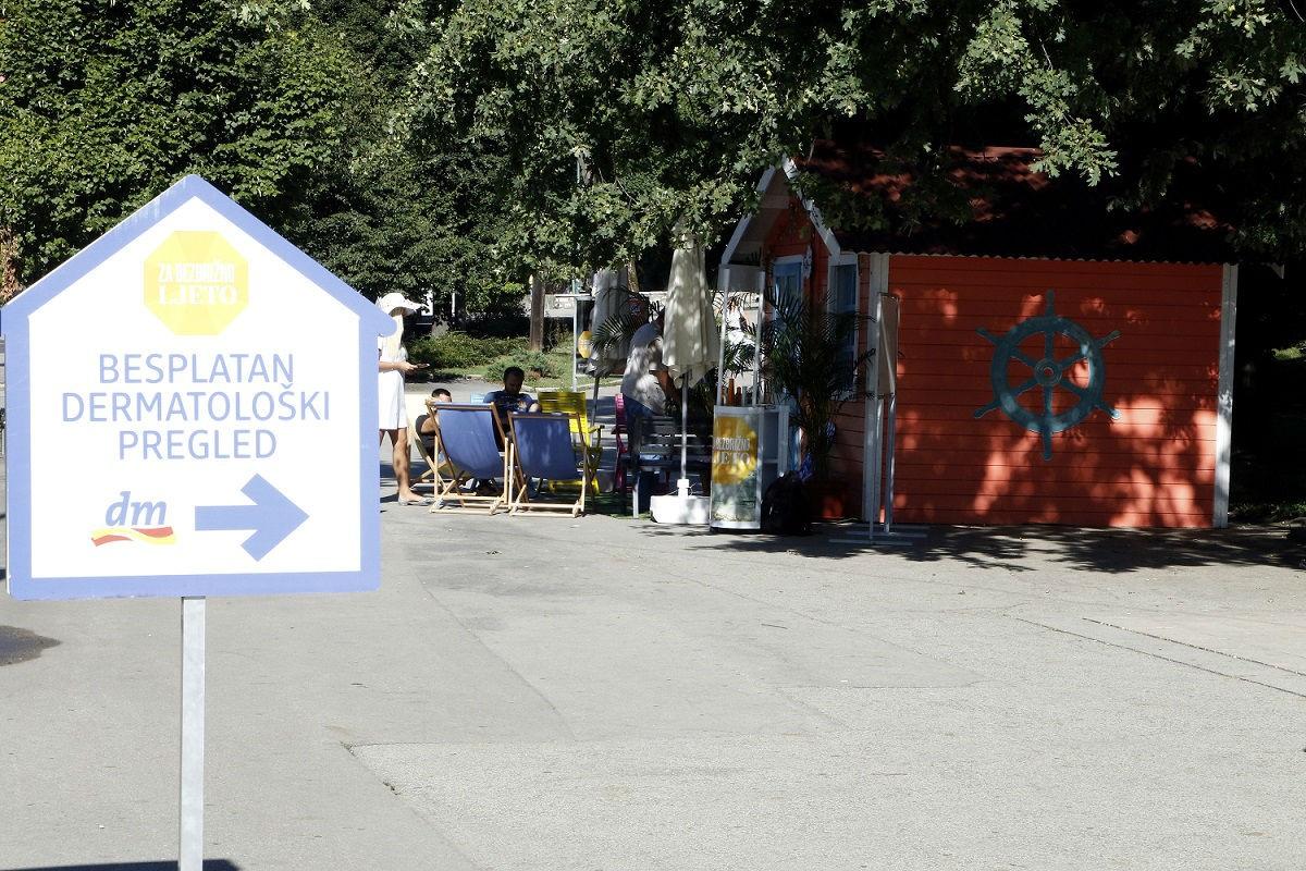 U Sarajevu besplatni dermatološki pregledi u Velikom parku