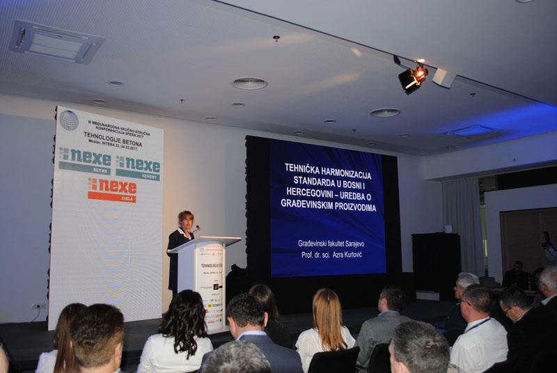 Počela međunarodna konferencija Sfera 2017: Tehnologije betona''