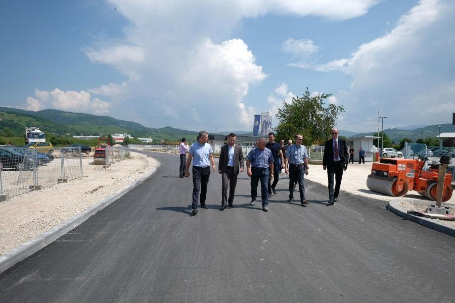 Krak Rajlovačke ceste od strateškog značaja za poslovnu zonu Rajlovac