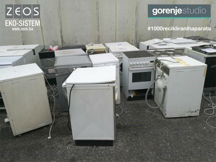 U akciji 'Staro za novo s popustom' do sada reciklirano 400 starih aparata