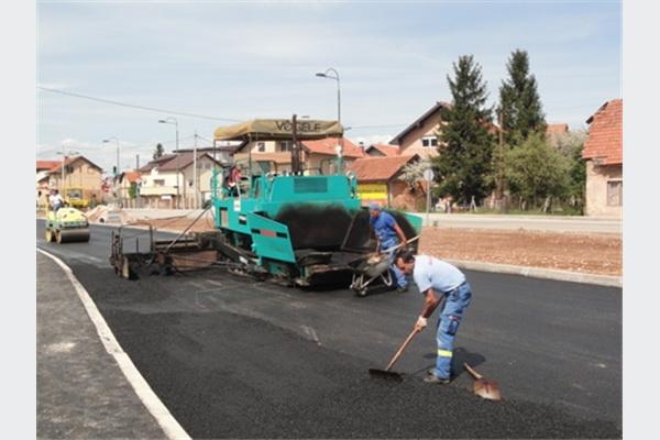 Pri kraju radovi: Uskoro na Ilidži u funkciji nova saobraćajnica
