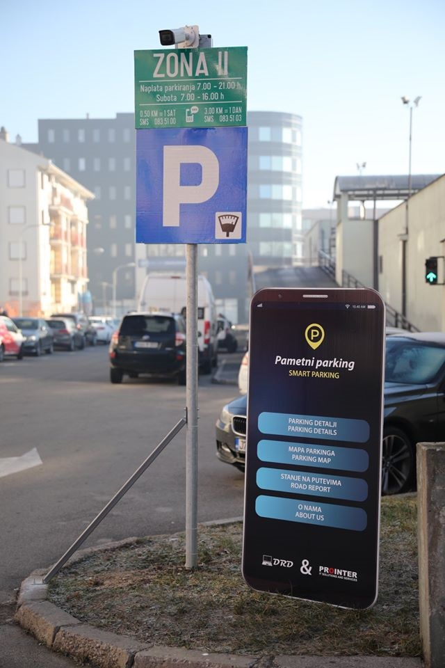 Banja Luka dobila pametni parking