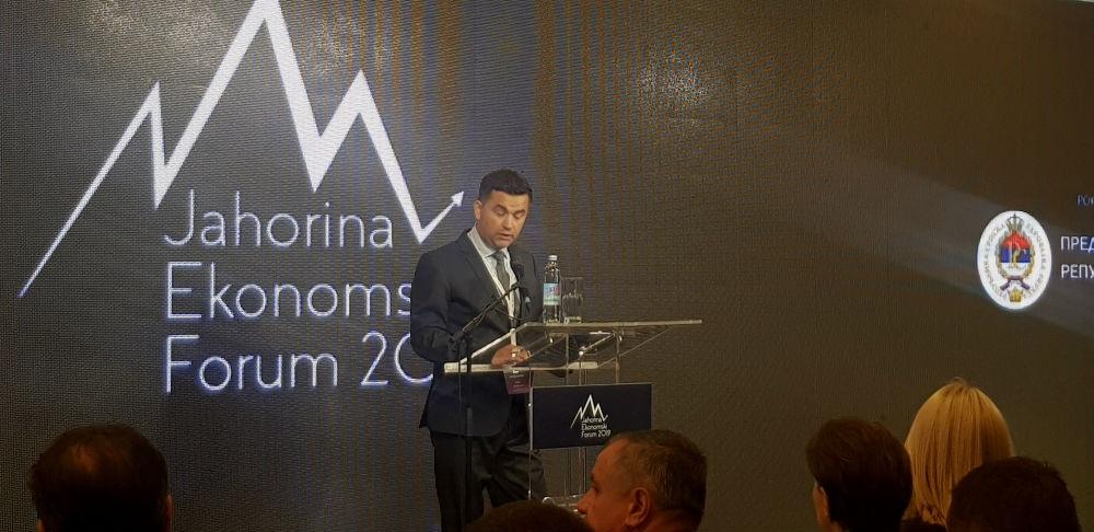 Јahorina ekonomski forum 2019: Ekonomija novog doba ključ budućeg razvoja