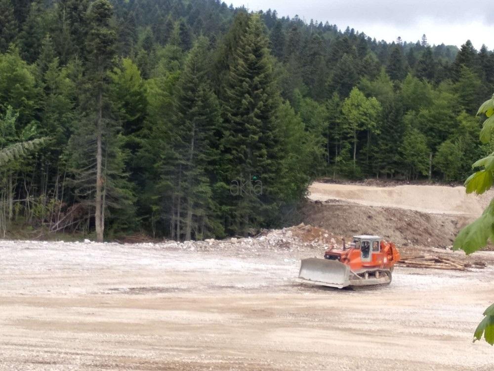 Akta.ba na gradilištu poslovno-sportskog centra u Trnovu