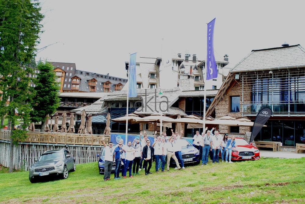 Na Jahorini održan Infiniti media drive: Posebna vozila za posebne ljude