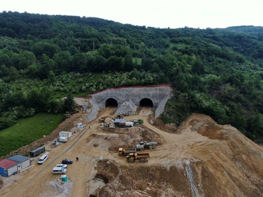 Pogledajte aktivnosti na izgradnji tunela Ivan (Foto)