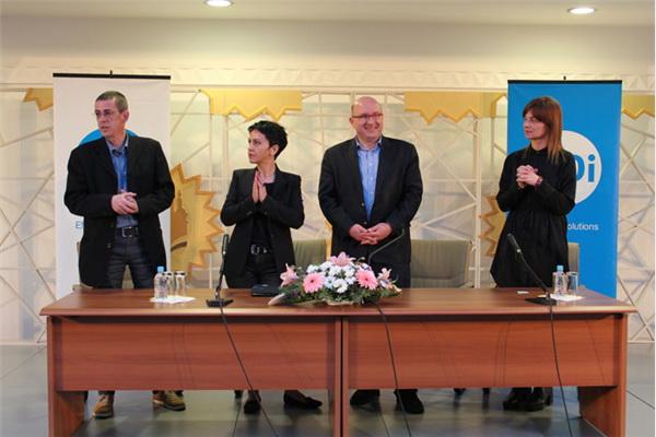 Ozvaničena saradnja Amire Medunjanin i GDi GISDATA Grupe