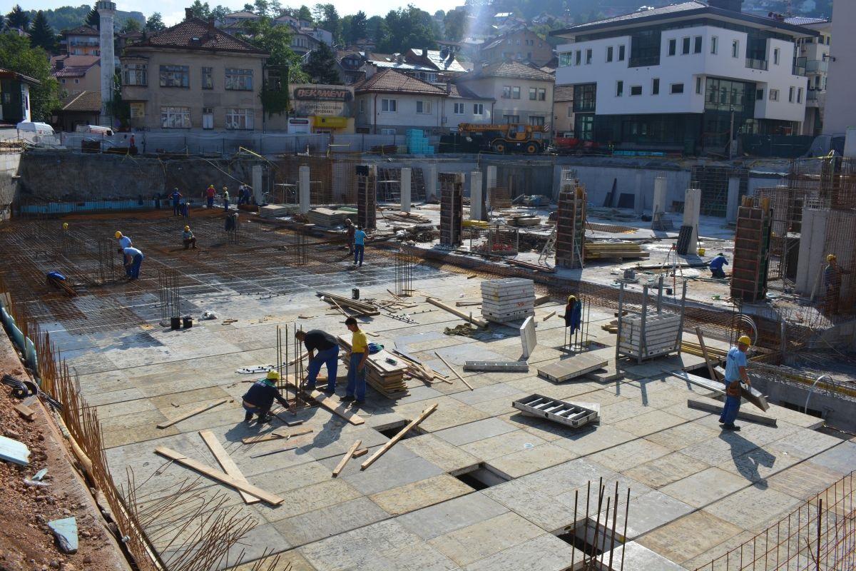 Podzemna garaža u Sarajevu bit će završena u novembru i sama se otplaćivati