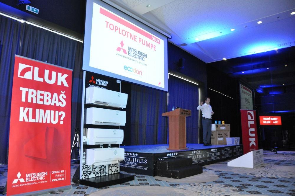 Prva konferencija LUK & Mitsubishi Electric klima uređaja