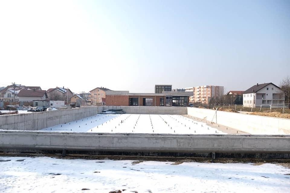 Pogledajte radove na izgradnji bazena Dobrinja