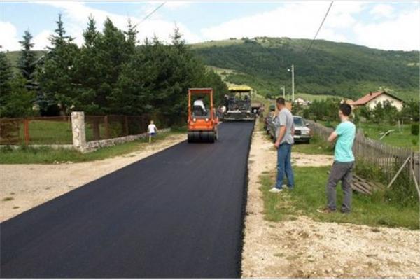 Tomislavgrad: Počeli radovi na sanaciji ceste u Galečiću