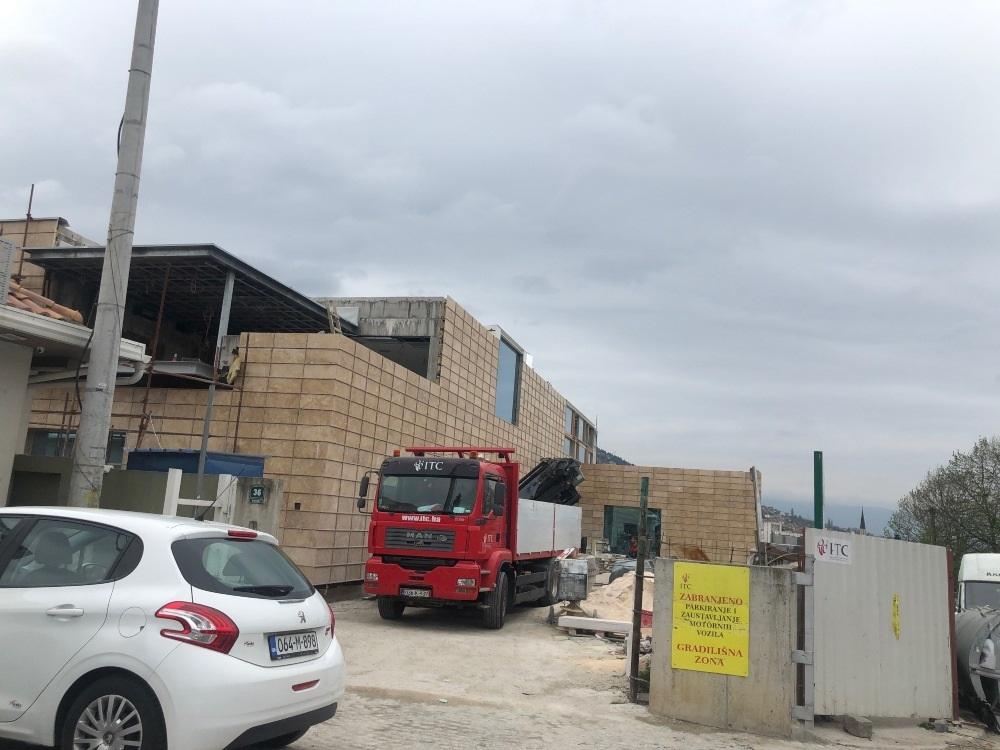 Zgrada Rijaseta na Kovačima treba biti završena ove godine