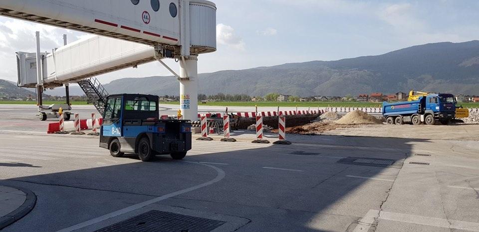 Međunarodni aerodrom Sarajevo dobija novi parking za avione