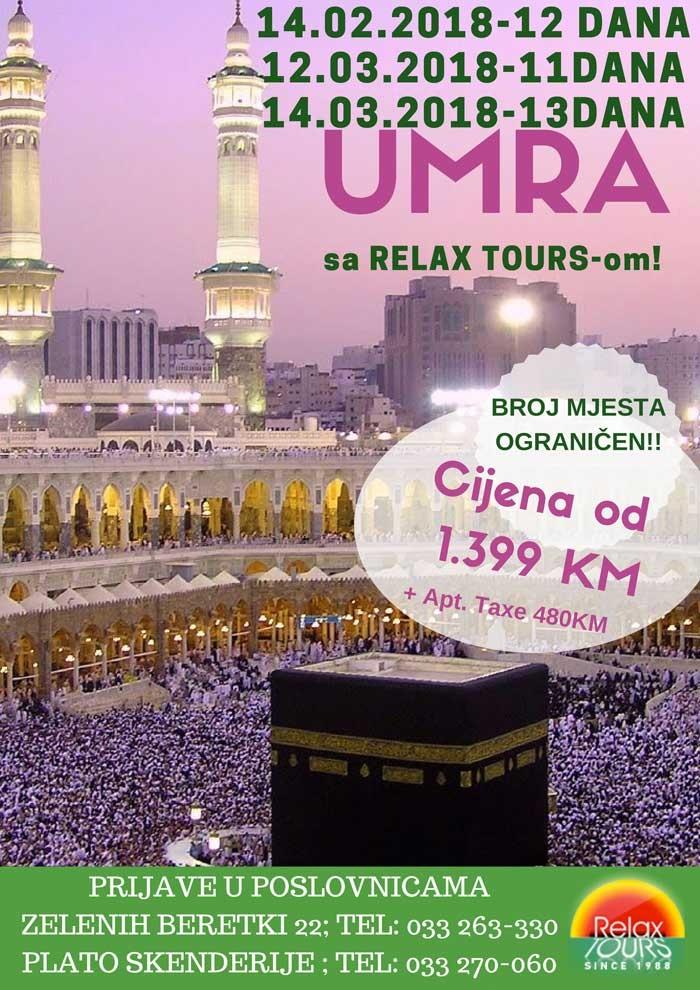 Specijalna ponuda: UMRA sa Relax Tours-om!