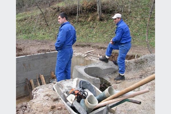 Jablanica: Postavljen priključak za vodovode Šanica i Komadinovo vrelo