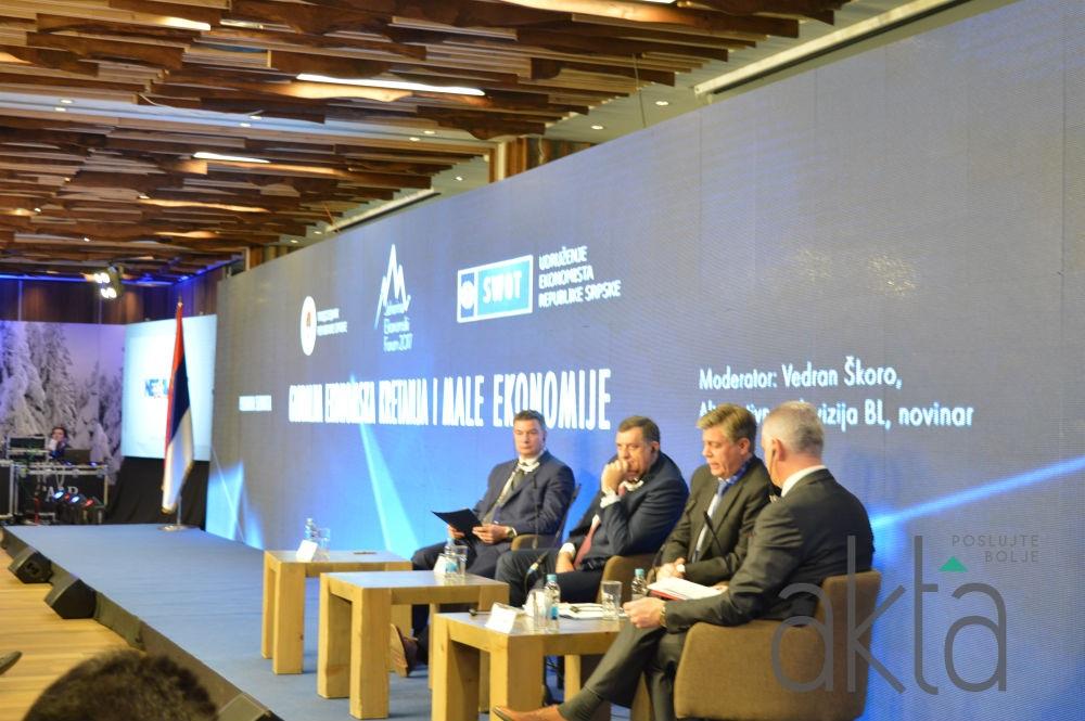 Jahorina ekonomski forum 2017 okupio međunarodnu poslovnu i stručnu javnost