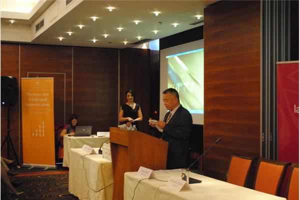 Edward Steng, predstavnik Taiwan-EBRD kooperacijskog fonda