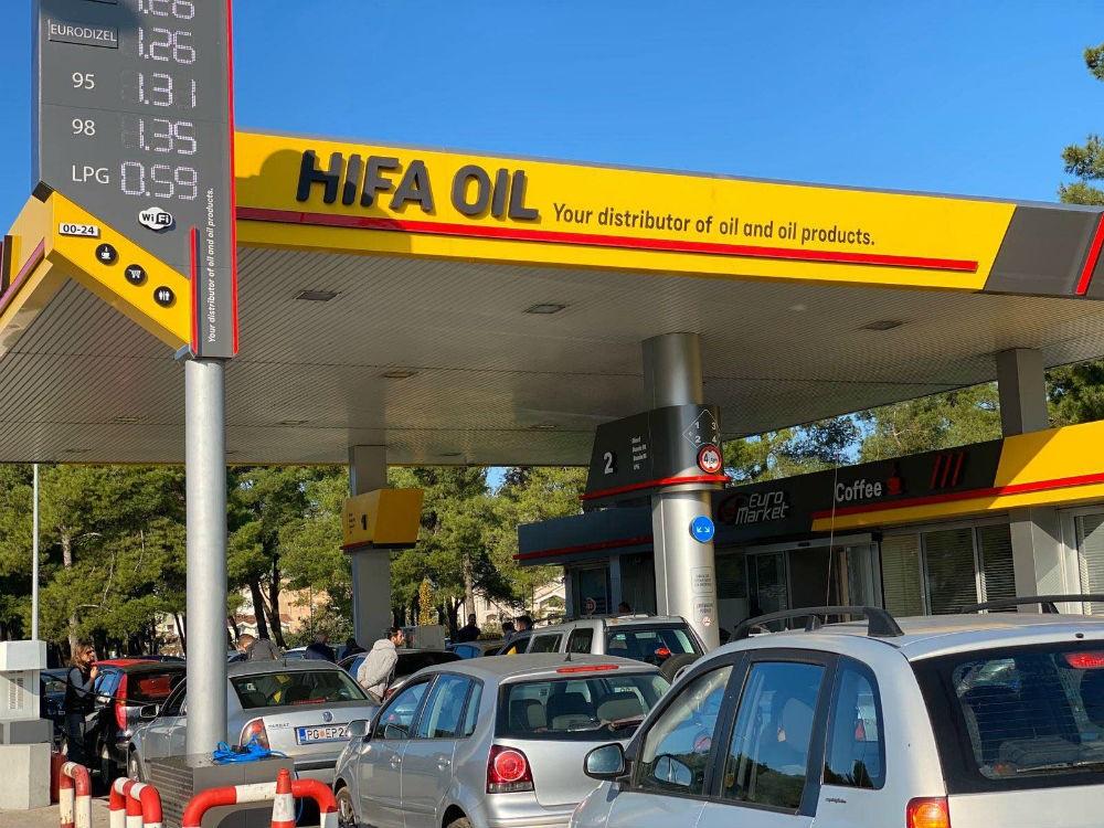 Otvorena dvanaesta Hifa Oil – Euro Oil benzinska pumpa, druga u Crnoj Gori
