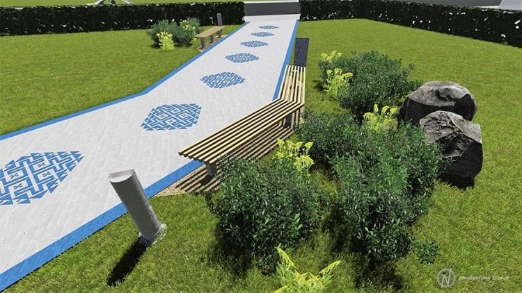 Zmijanjski vez krasit će park u Banjaluci