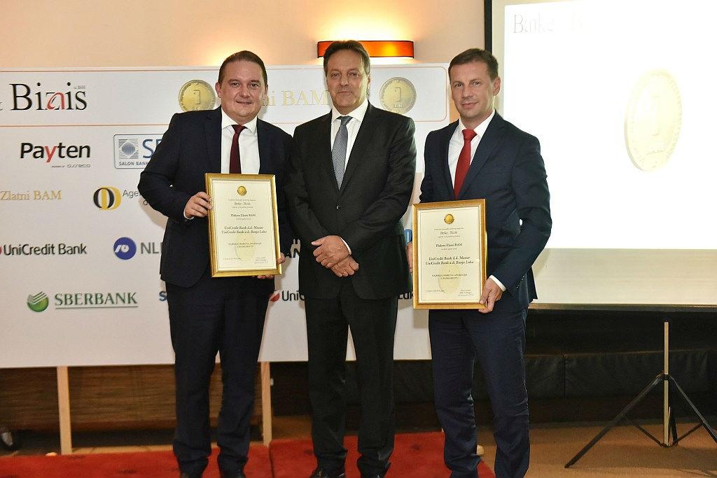Uručena najveća bankarska priznanja 'Zlatni BAM'