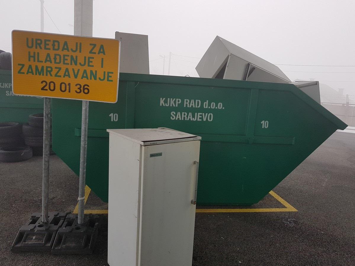 Saradnja RAD-a i ZEOS-a u oblasti zbrinjavanja električnog i elektronskog otpada