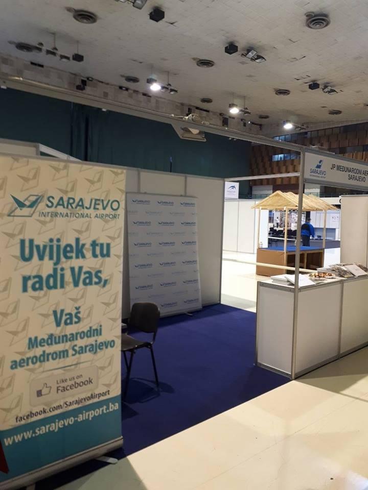 Međunarodni aerodrom Sarajevo na Festivalu turizma u Skenderiji