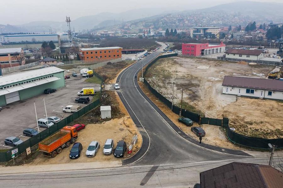 Završena nova saobraćajnica u poslovnoj zoni Rajlovac
