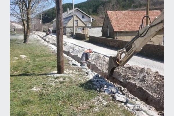 Počela druga faza radova na vodovodu u Vojkovićima